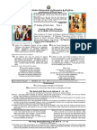SACRED LESSONS -A P R I L  2 0 1 1