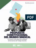 Propuesta Constitucional Del Mundo Sindical - CUT - Friederich Ebert