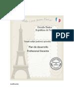 Plan de Desarrollo Profesional Francia