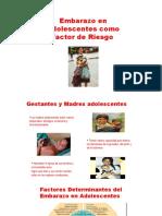 317702223 Embarazo en Adolescentes Como Factor de Riesgo