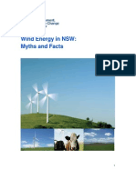 Wind Energy in NSW - Myths and Facts