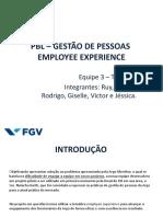 PBL GESTÃO DE PESSOAS