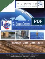 Livret de la 19eme Conférence Géologique de la Caraïbes