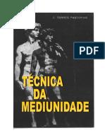 C. TORRES PASTORINO - Tecnica DA mediunidade