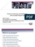 Life Settlement - Premium Finance pdf