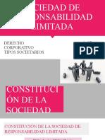 Sociedad de Responsabilidad Ltda - presentaión derecho coporativo