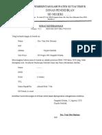 Surat Aktivasi Rekening Pip