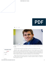 Biografía de Magnus Carlsen · Chesscampus