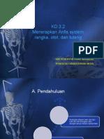 KD 3.2 Anfis Rangka Otot Dan Tulang