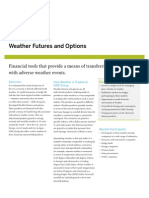2007Weather Futures and Options