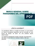 Marco General de Paradigmas del aprendizaje (2)