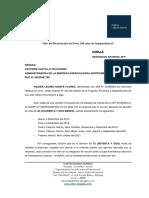 Carta Retencion Aportes AFP - Sertecmec - Wilder Quispe