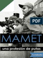 Una profesion de putas - David Mamet