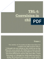 TBL 4 - convulsion in children