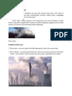 Pengertian Polusi Udara