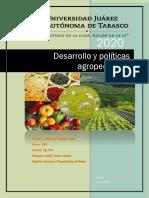 ensayo. Desarrollo y política agropecuarios