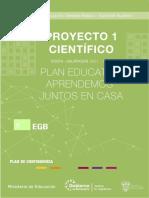 FICHA PEDAGÓGICA DEL PROYECTO CIENTÍFICO (SEMANA 1) - SEMANA 7