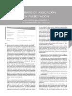 AELE Contrato de Asociación en Participación - Gastos Relacionados a La Contribución Del Asociado