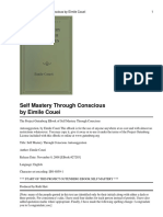 self mastery through conscious