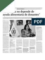 El Perú ya no depende de ayuda alimentaria de donantes