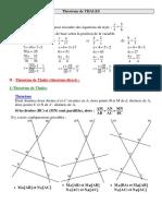 Chap 1 - Cours - Le théorème de Thalès - Site