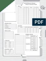SilCore Character Sheet
