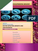 Oncogenesis Topic by Laraib Fiaz