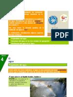 Diapositivas de AGua y Sus Propiedades 7mo