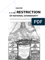 The Restriction of National Sovereignty