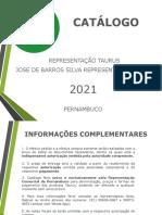 9MM - CATÁLOGO TAURUS JBS PERNAMBUCO 2021