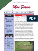 Issue No.2/2010 MON FORUM February 2011