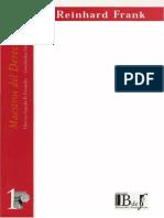 Maestros Del Derecho Penal - Frank, Reinhard - Sobre La Estructura Del Concepto de Culpabilidad[1]