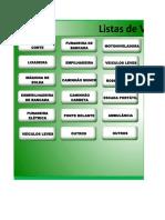 Check List Diversos - Oz Minerals Atualizada