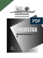 Lingüística II