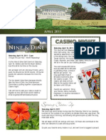 Hannibal Country Club April 2011 Newsletter