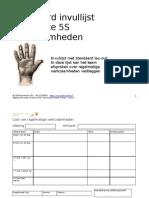 Lijst Frequente 5S Werkzaamheden(W82)