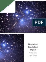 Marketing Digital - Aula 1 - Apresentação e Expectativas