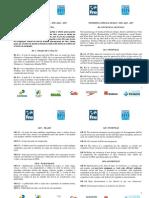 Regras Fina 2013 - 2017 - Português e Inglês (Publicação)