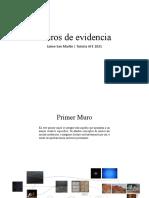 Jaime San Martín Muros de evidencia