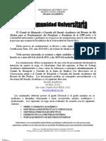 Convocatoria a Nominaciones / Presidencia de la UPR