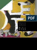 Catalogo de la Exposición Boletus 2008 de Ignacio Algarín