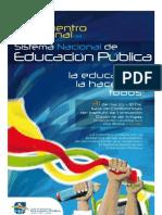 II Encuentro Regional del Sistema Nacional de Educaci