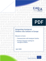 Integrating Immigrant Children into Schools in Europe