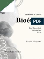 Verónica Jara- Bioetica Odontología