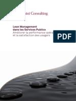 Lean Management Dans Les Services Publics