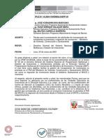Pautas para la presentación de solicitudes de incorporación de inversiones no previstas y migración de inversiones-MVCS