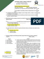 Banco de Preguntas Proyecto Quimestral Noveno