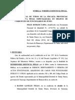 ABANDONO DE CARGO TINTAY