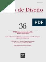 Actas de Diseño 36 - Universidad de Palermo