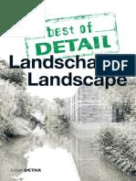 (Best of Detail) Schittich, Christian - Landschaft Landscape-Institut Für Internationale Architektur-Dokumentation (2017)